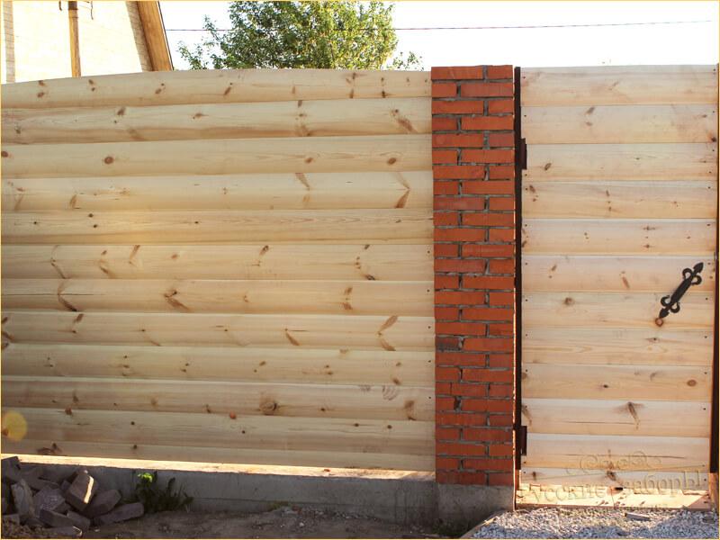 деревянный сплошной забор 3 буквы ответ